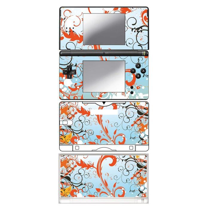 skin stickers pour nintendo ds lite sticker flowers in sun achat vente protection ecran. Black Bedroom Furniture Sets. Home Design Ideas