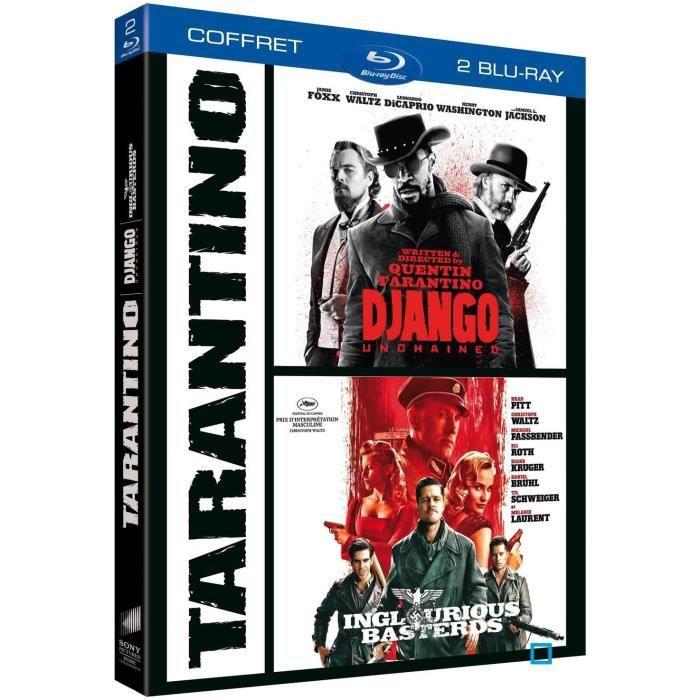 dvd coffrets et blu ray coffret tarantino django unchained f