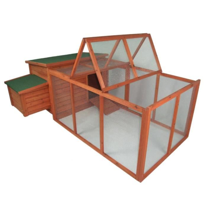 poulailler avec enclos garden achat vente poulailler poulailler avec enclos gar cdiscount. Black Bedroom Furniture Sets. Home Design Ideas