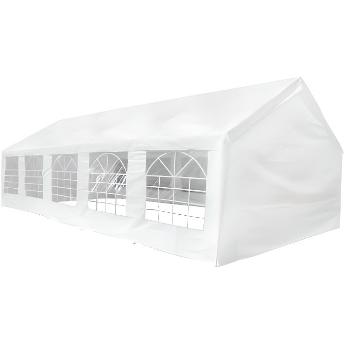 barnum ch piteau tente de r ception 10x5 blanc achat vente tonnelle bar. Black Bedroom Furniture Sets. Home Design Ideas