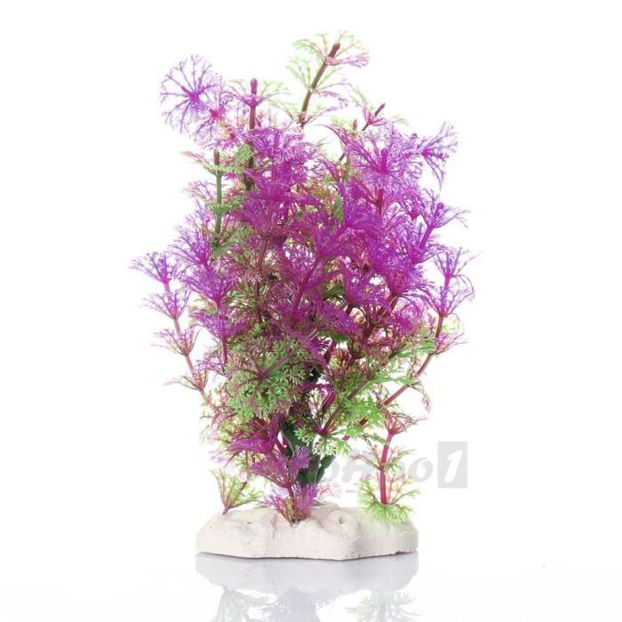 plante artificielle aquatique en plastique viol achat vente d co artificielle plante. Black Bedroom Furniture Sets. Home Design Ideas
