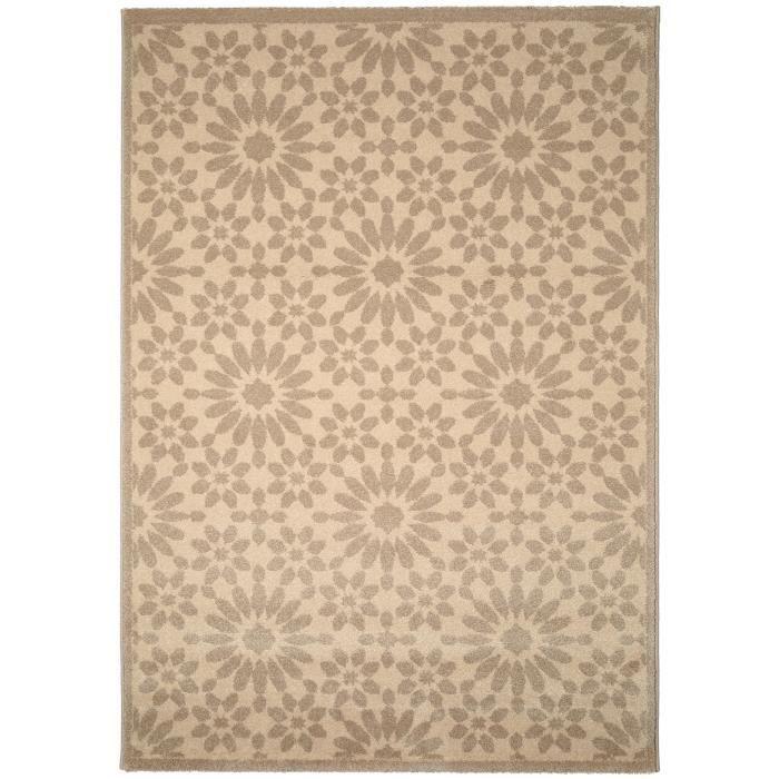 benuta tapis gazania taupe 200x290 cm achat vente tapis soldes cdiscount. Black Bedroom Furniture Sets. Home Design Ideas