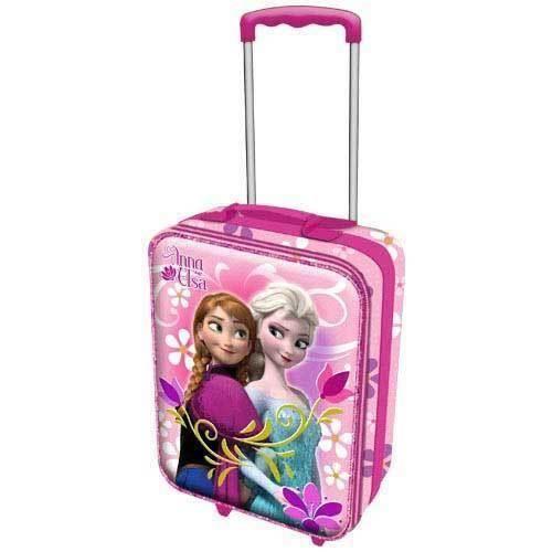 frozen reine des neiges valise rose roulettes achat vente valise bagage 2009953476731. Black Bedroom Furniture Sets. Home Design Ideas