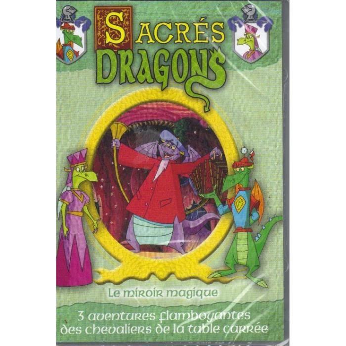 Sacr s dragons le miroir magique dvd en dvd dessin for Le miroir magique