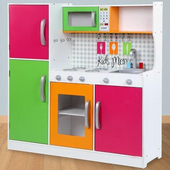 Cuisine jouet pour enfant compl tement quip e achat - Jouet cuisine pour enfant ...