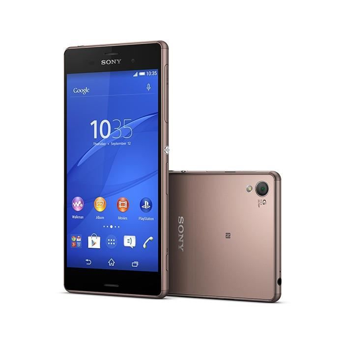 sony xperia z3 marron reconditionne a neuf achat smartphone pas cher avis et meilleur prix. Black Bedroom Furniture Sets. Home Design Ideas