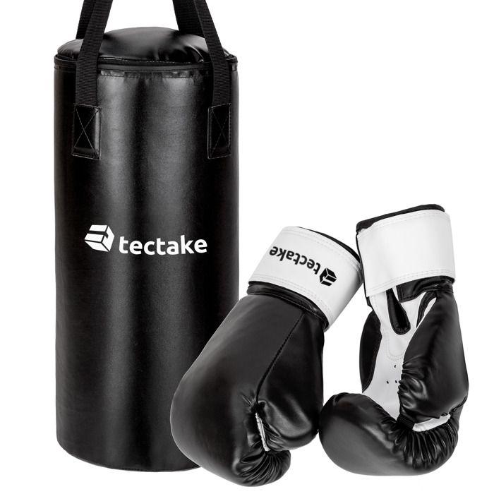 accessoires de boxe et de sport de combat pour enfants 1 sac de frappe 2 gants de boxe. Black Bedroom Furniture Sets. Home Design Ideas