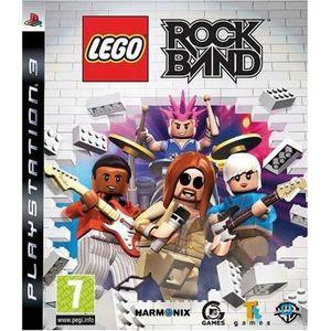 JEU PS3 LEGO ROCK BAND / JEU POUR CONSOLE PS3