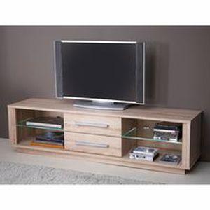 meuble tv 2 niches 2 tiroirs zephir achat vente meuble tv meuble tv 2 niches 2 tiroirs. Black Bedroom Furniture Sets. Home Design Ideas