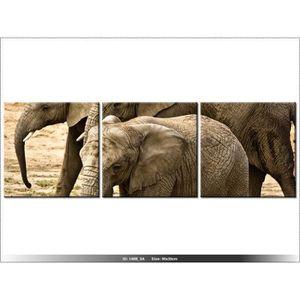 30 x 90cm afrique elephant tableau multi panneaux moderne deco new design achat. Black Bedroom Furniture Sets. Home Design Ideas