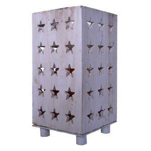 LAMPE A POSER Lampe à poser décorative Estrella étoile bois 14 c
