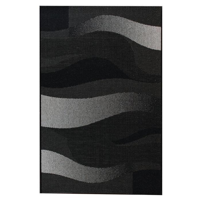 floorluxe tapis de salon gris 160x230 cm achat vente tapis 100 polypropyl ne soldes d. Black Bedroom Furniture Sets. Home Design Ideas