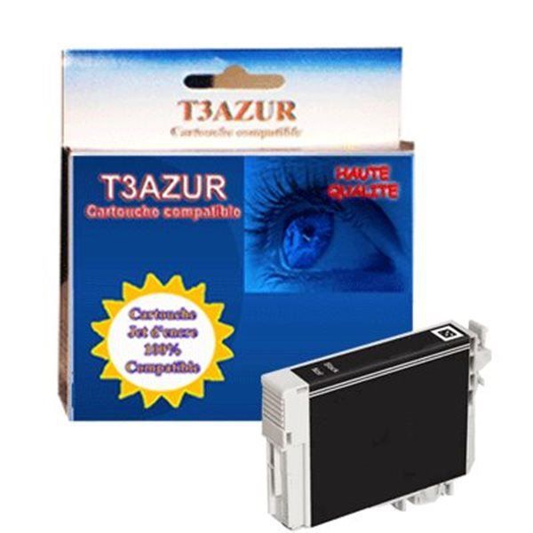 t18xl cartouche compatible epson t1811 xl noire prix pas cher cdiscount. Black Bedroom Furniture Sets. Home Design Ideas