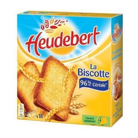 Heudebert, Biscotte Heudebert, 36T x 4 - Achat / Vente ...