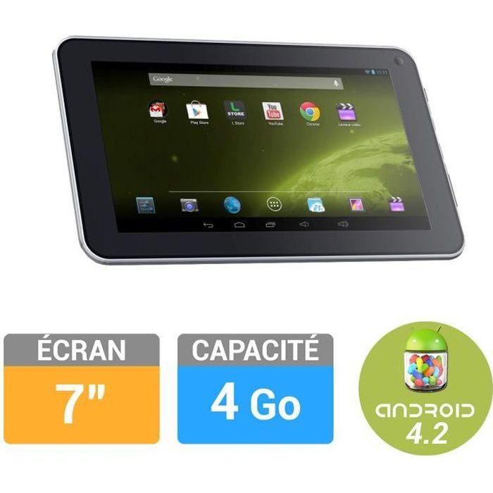 """Logicom Tablette S732 7"""" 4Go BLANCHE Achat / Vente tablette tactile"""