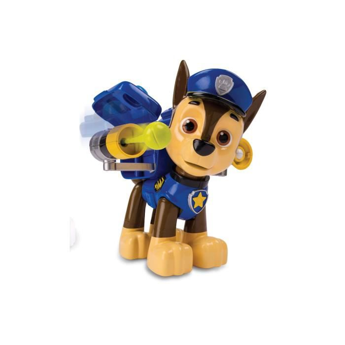 figurine g ante paw patrol pat 39 patrouille chase achat vente figurine personnage. Black Bedroom Furniture Sets. Home Design Ideas