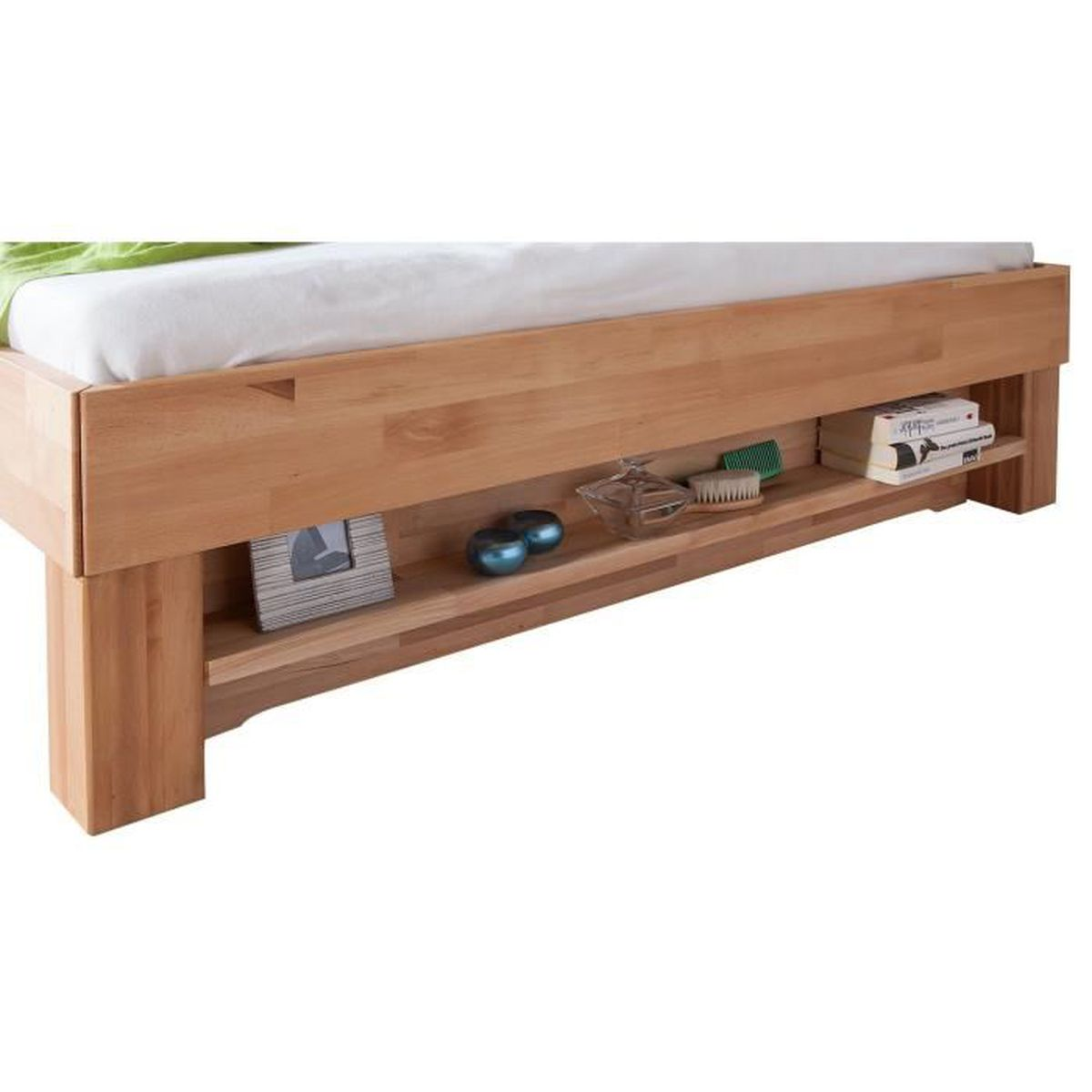 tag re pour lit en bois massif de h tre huil 140 cm. Black Bedroom Furniture Sets. Home Design Ideas