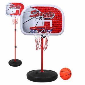 Panier de basket ball sur pied r glable en hauteur pour - Parc reglable en hauteur pas cher ...