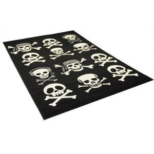 tapis tete de mort prix pas cher soldes cdiscount. Black Bedroom Furniture Sets. Home Design Ideas