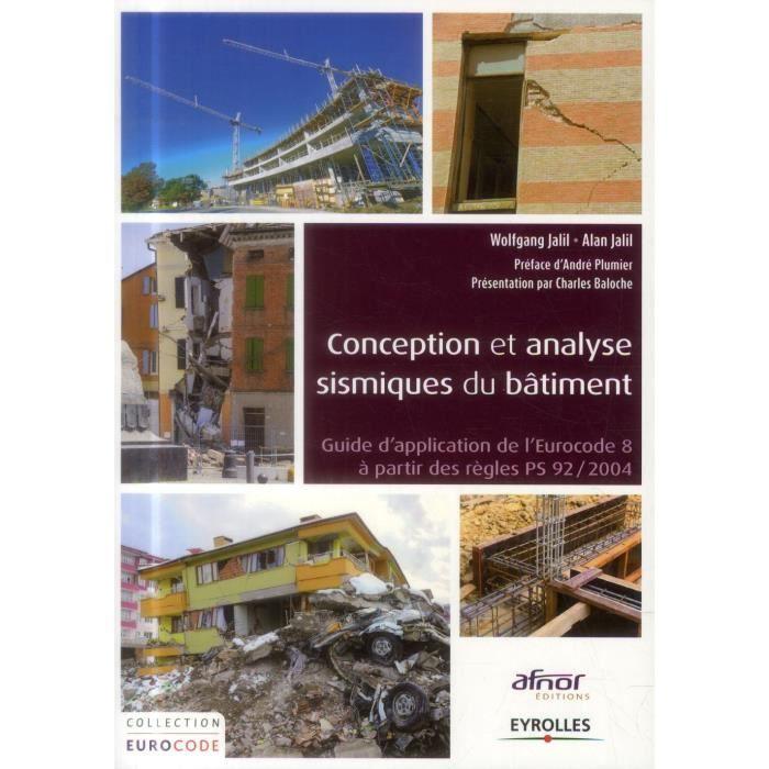 Conception et analyse sismique du b timent achat vente for Conception et bureau du batiment