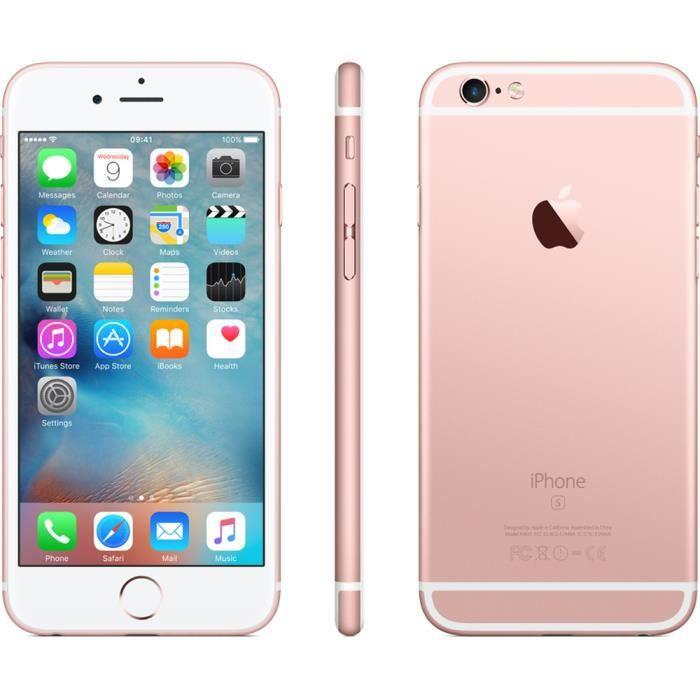 apple iphone 6s 64go rose gold boite d 39 origine achat smartphone pas cher avis et meilleur. Black Bedroom Furniture Sets. Home Design Ideas
