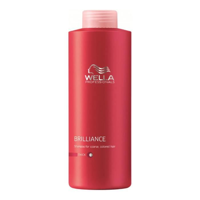 shampoing shampoing cheveux colores epais 1000 ml wella b - Shampoing Wella Cheveux Colors