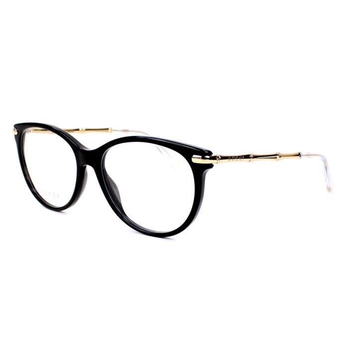 lunettes de vue gucci gg 3780 hqw noir or achat vente lunettes de vue lunettes de vue. Black Bedroom Furniture Sets. Home Design Ideas