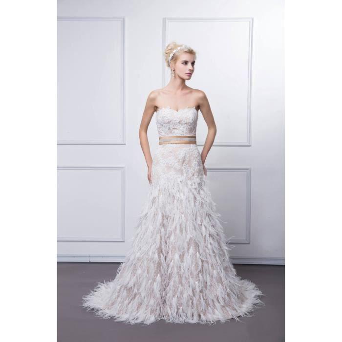 Robe de soir e mari e mariage bal longue tra ne bustier for Bas les robes de mariage arkansas