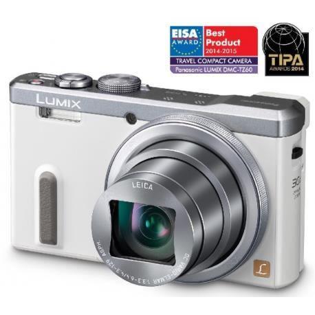 PANASONIC DMC TZ60 blanc Appareil photo numérique D'une