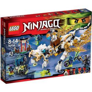ASSEMBLAGE CONSTRUCTION LEGO® Ninjago 70734 Le Dragon de Maître Wu