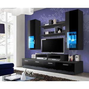 panneau mural tv achat vente panneau mural tv pas cher cdiscount. Black Bedroom Furniture Sets. Home Design Ideas