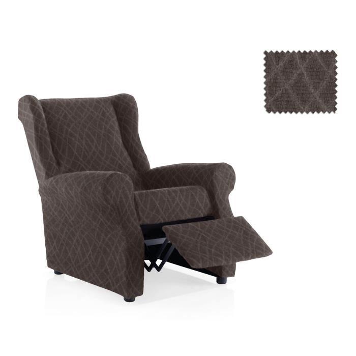 housse fauteuil relax lastique mercurio taille 1 place taille standard couleur noire achat. Black Bedroom Furniture Sets. Home Design Ideas