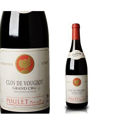 VIN ROUGE Poulet P&F 2008 Clos de Vougeot