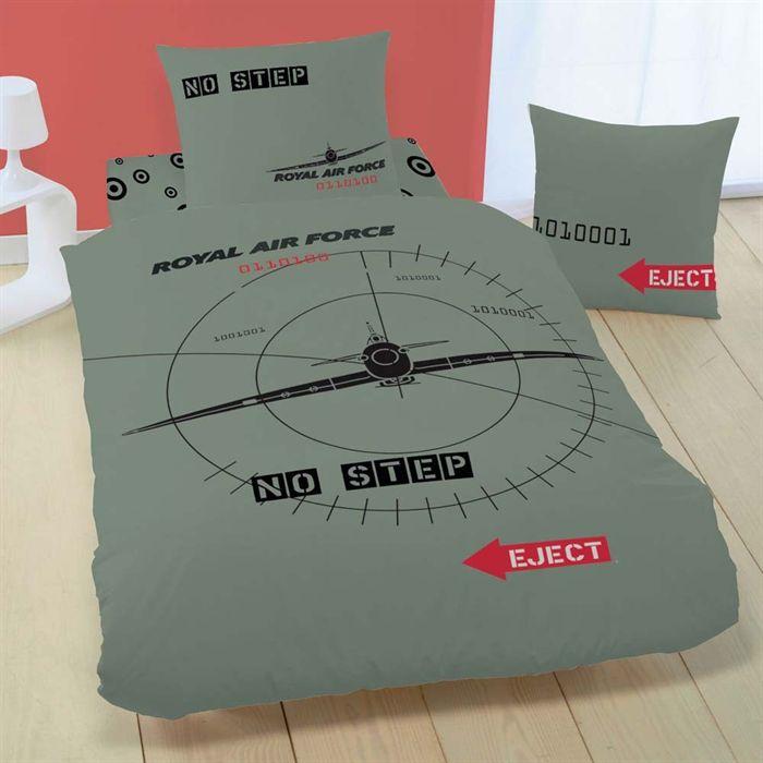 raf target kaki parure de couette 140 x 200 cm achat vente parure de couette cdiscount. Black Bedroom Furniture Sets. Home Design Ideas