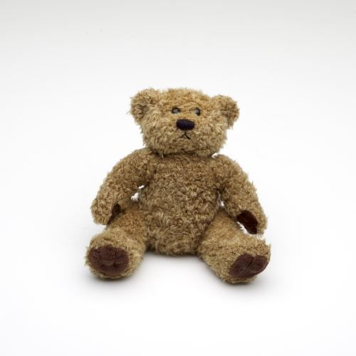 ours en peluche brun 16 cm assis achat vente peluche les soldes sur cdiscount cdiscount. Black Bedroom Furniture Sets. Home Design Ideas
