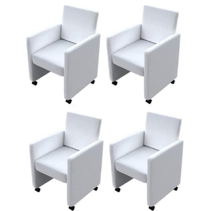 fauteuil a roulette pour salle a manger achat vente. Black Bedroom Furniture Sets. Home Design Ideas