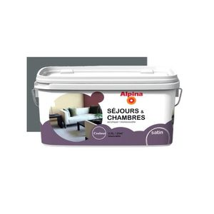peinture gris anthracite achat vente peinture gris anthracite pas cher cdiscount. Black Bedroom Furniture Sets. Home Design Ideas