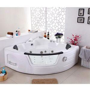 baignoire balneo 2 places achat vente baignoire balneo 2 places pas cher cdiscount. Black Bedroom Furniture Sets. Home Design Ideas