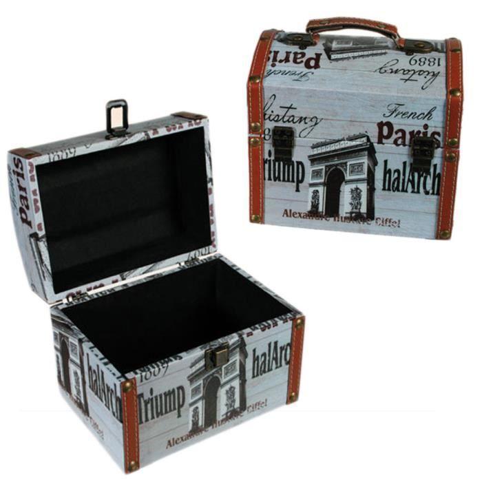 grande boite paris achat vente boite de rangement pvc. Black Bedroom Furniture Sets. Home Design Ideas