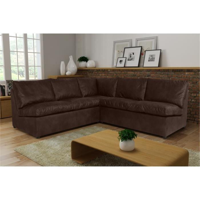 canap d 39 angle avanti flexi 2a2 tobago 14 brun sofa divan achat vente canap sofa divan. Black Bedroom Furniture Sets. Home Design Ideas