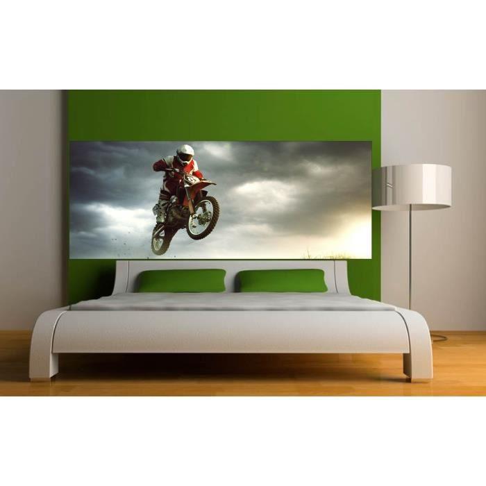 D coration chambre motocross for Decoration chambre en ligne