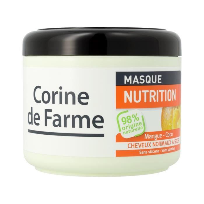 masque nutrition la mangue et au lait de coco achat vente masque soin capillaire masque. Black Bedroom Furniture Sets. Home Design Ideas