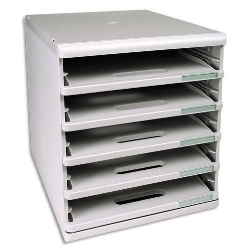 exacompta module de classement 5 tiroirs ouvert achat vente meuble classement exacompta. Black Bedroom Furniture Sets. Home Design Ideas