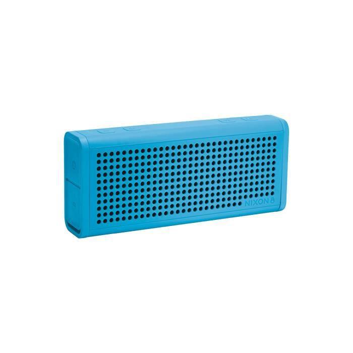 enceinte sans fil portable nixon sky blue enceintes bluetooth avis et prix pas cher cdiscount. Black Bedroom Furniture Sets. Home Design Ideas