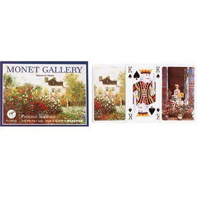 CARTES DE JEU Jeu de cartes - Patience : Monet