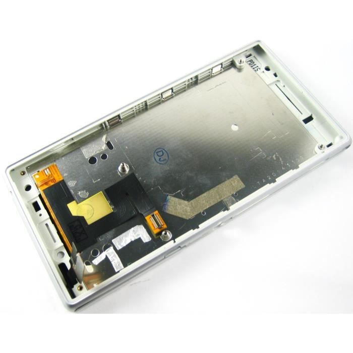lcd ecran exposer touche tactile digitizer cadre pour sony xperia m2 d2303 d2305 d2306 blanc. Black Bedroom Furniture Sets. Home Design Ideas