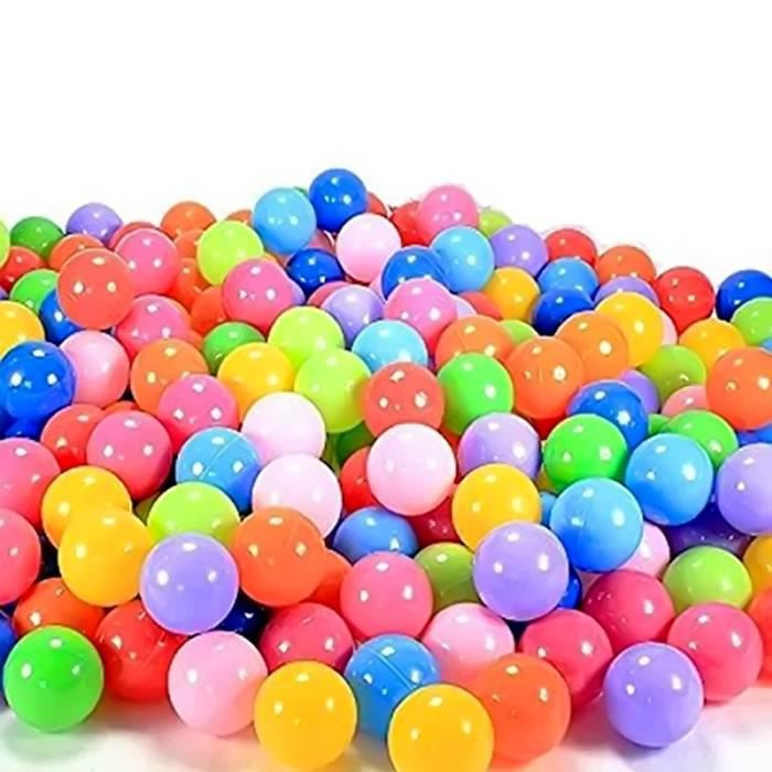 Vococal 100pcs 7cm piscine balles bebe plastique color for Piscine a balle