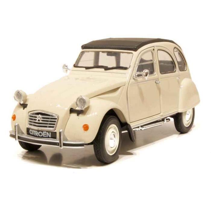 voiture de collection 1 24 vintage citroen 2cv achat vente v hicule circuit cdiscount. Black Bedroom Furniture Sets. Home Design Ideas