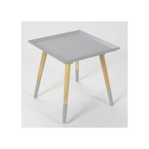 bout de canape gris achat vente bout de canape gris. Black Bedroom Furniture Sets. Home Design Ideas