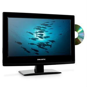tv lcd avec lecteur dvd cran 40cm 15 6 tnt hd. Black Bedroom Furniture Sets. Home Design Ideas